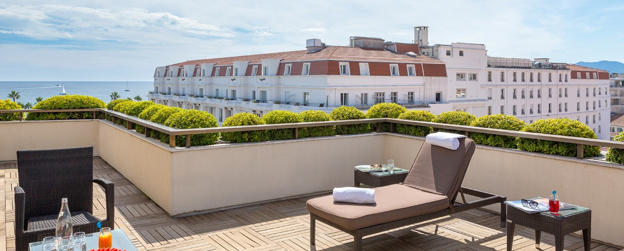 Terrasse Mer, Suite Gray d'Albion, Cannes