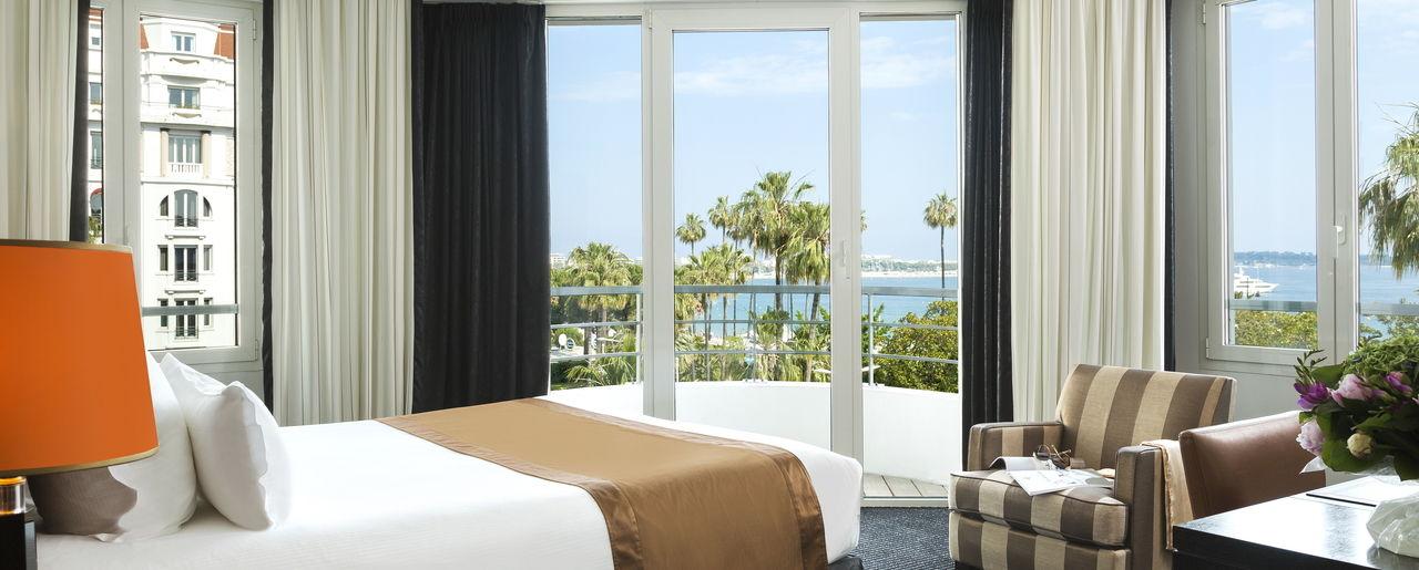 Chambre, Vue Mer, Hôtel Barrière, Cannes