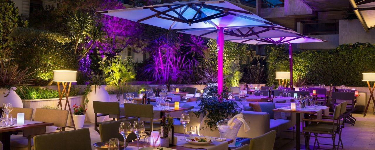 La Terrasse Du Gray Hotel Barriere Le Gray D Albion Cannes