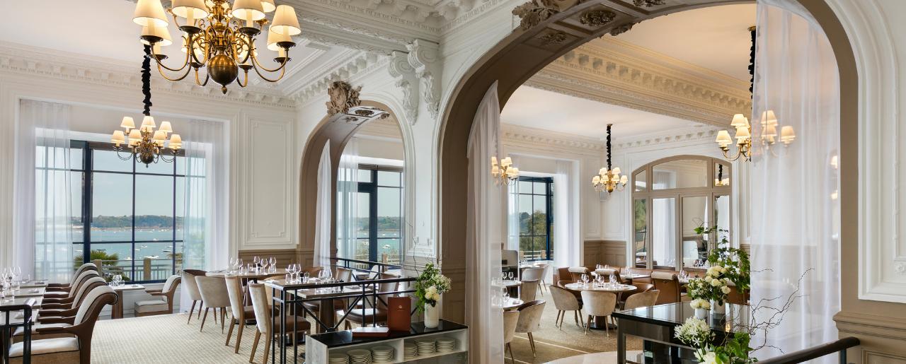 Hotel Barriere Dinard Restaurant