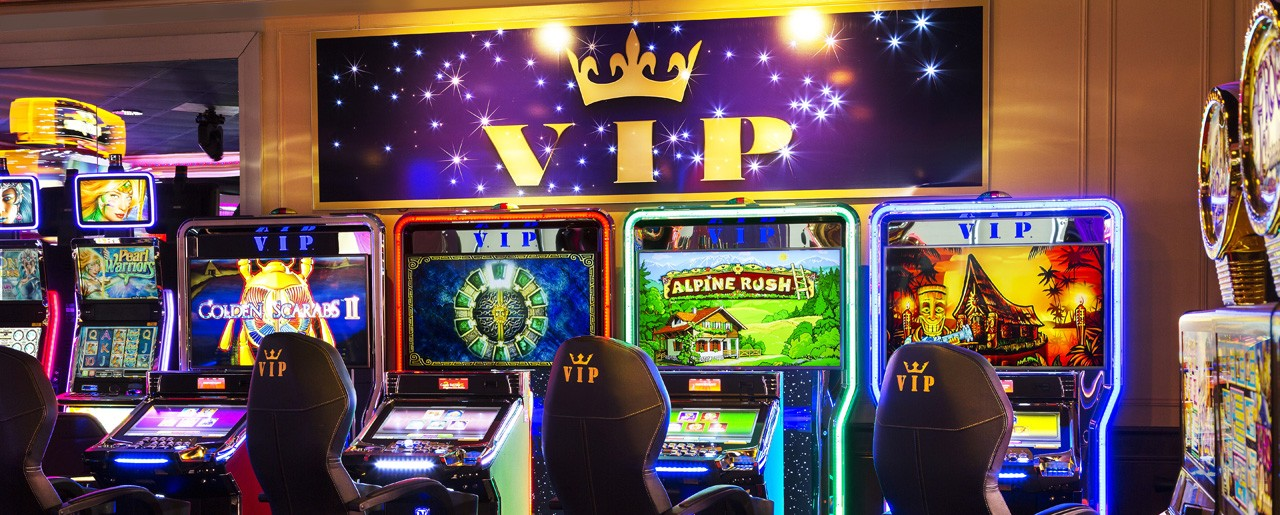 Escaapde Casino, Machine à sous