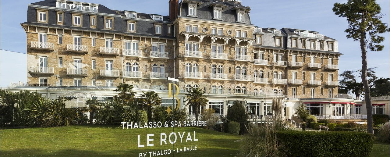 Hotel Le Royal La Baule H 244 Tels Barri 232 Re