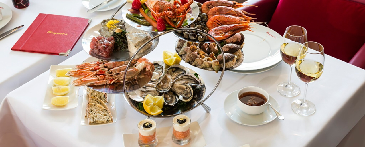 Hôtel Barrière La Baule - Le Royal - Restaurant - Table - Seafood