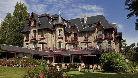 Hôtel Barrière La Baule - Castel Marie Louise - Vue de l'hôtel