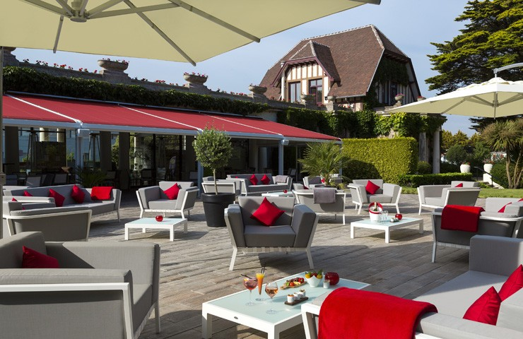 La terrasse Lounge, Tennis Country Club Barrière La Baule