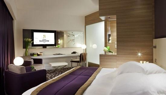 Chambres h tel et suites le resort barri re lille h tels barri re - Chambre de culture double ...