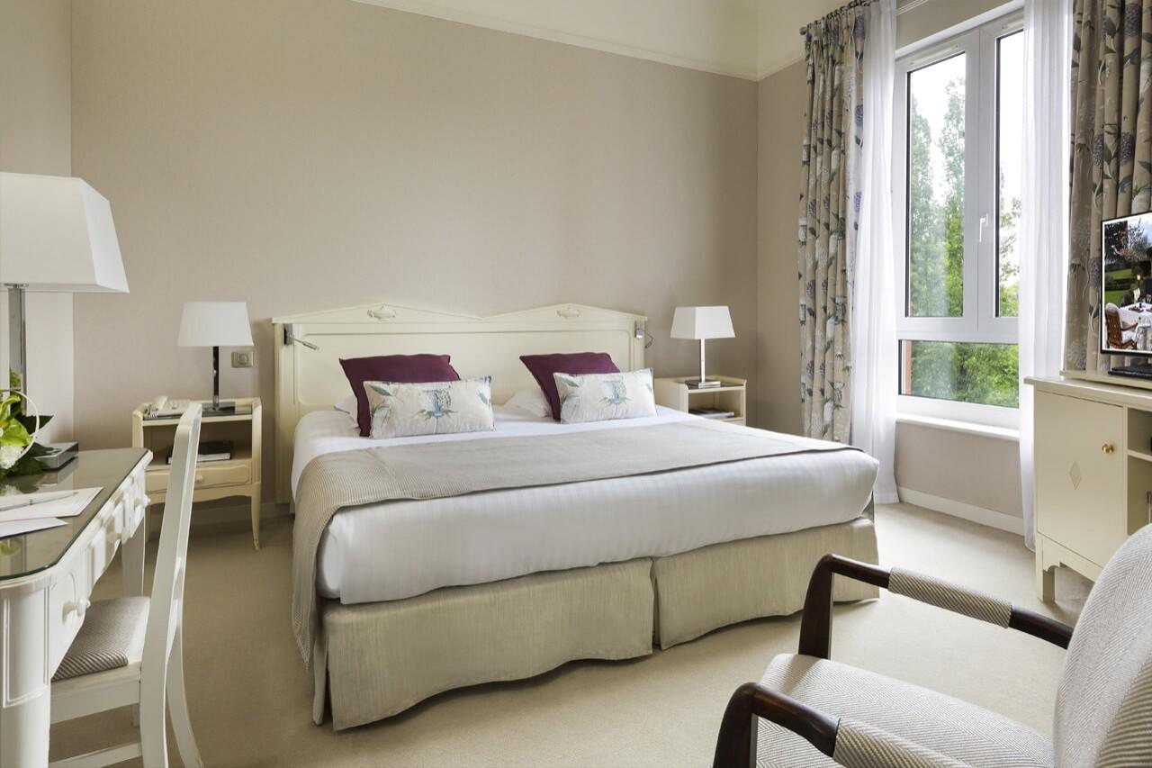 Chambre Classique Royal Barriere : Chambre classique hôtel barrière le westminster touquet