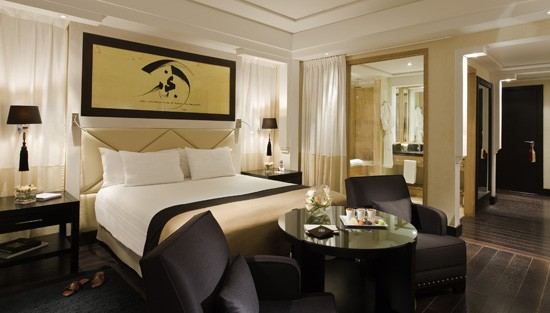 Luxury guest rooms spectacular suites naoura barri re - Prix chambre hotel mamounia marrakech ...