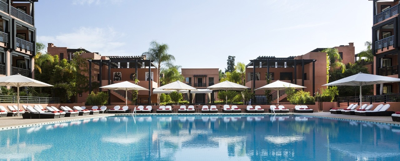 Le naoura h tel 5 toiles marrakech h tels barri re for Bab hotel marrakech piscine